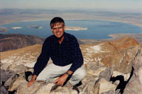 On top of Mt. Dana, Yosemite about 1995.